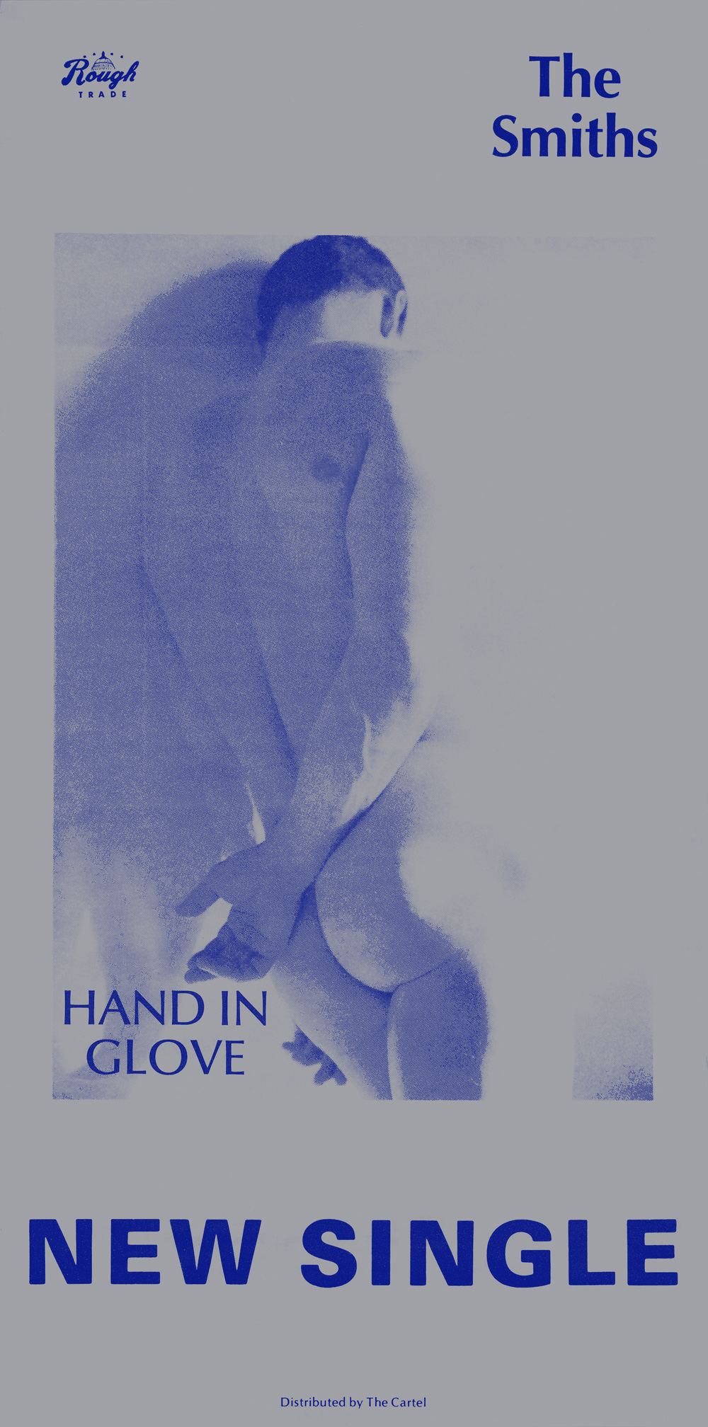 The Smiths Shirt Uk Indie Rock Band Screenprint Women By: Hand In Glove (single)